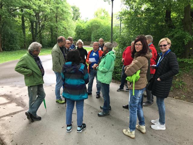 Stadtteilrundgang Eglosheim mit den Freien Wählern